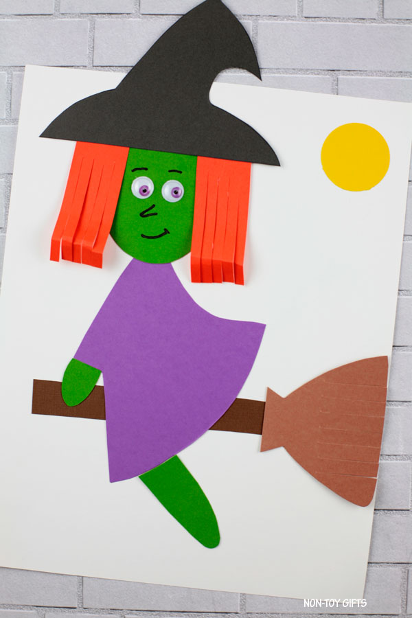 Easy paper witch craft