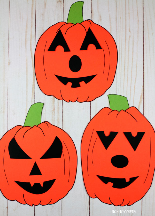Build a Jack O Lantern game and craft