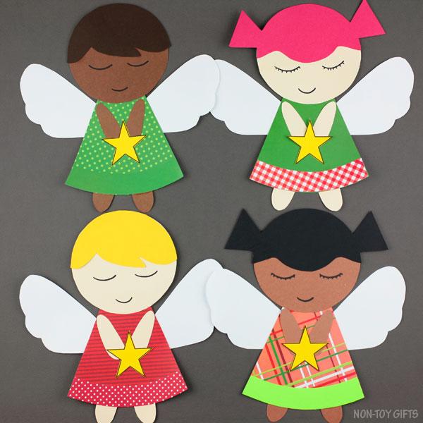 Paper angels craft