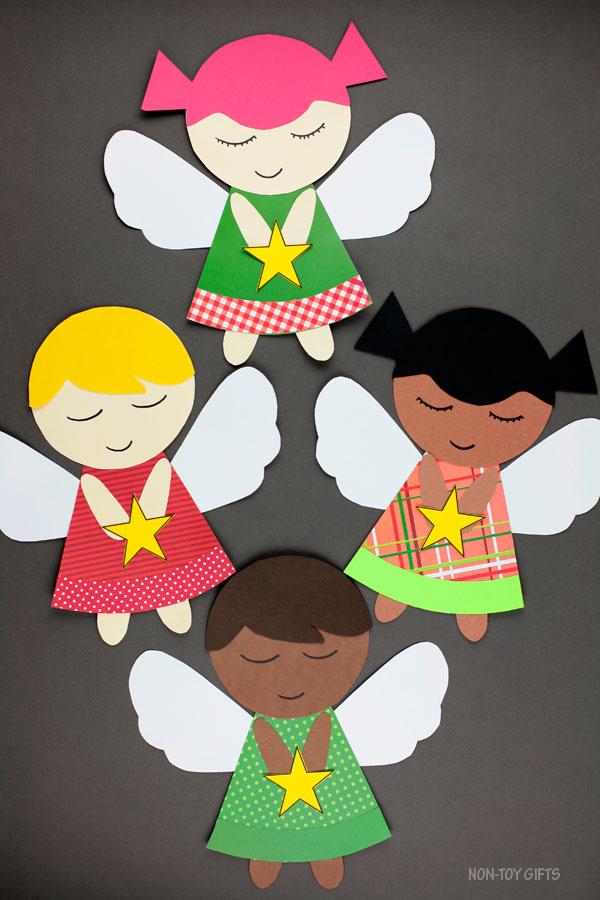 Angel craft for Christmas