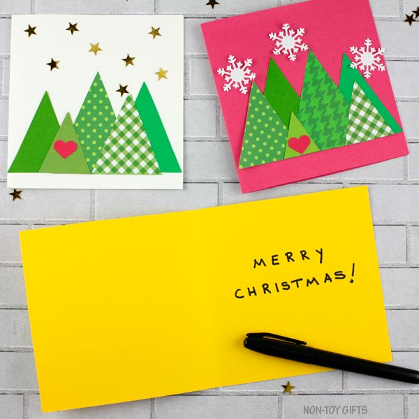 DIY Christmas cards ideas