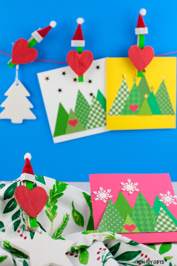 Clothespin Grinch craft for preschoolers to make this Christmas