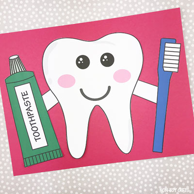 Tooth craft for kids