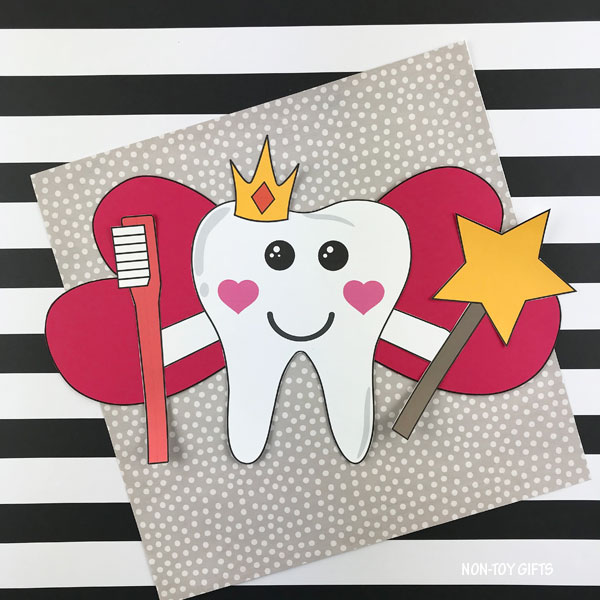 Tooth fairy craft for kids