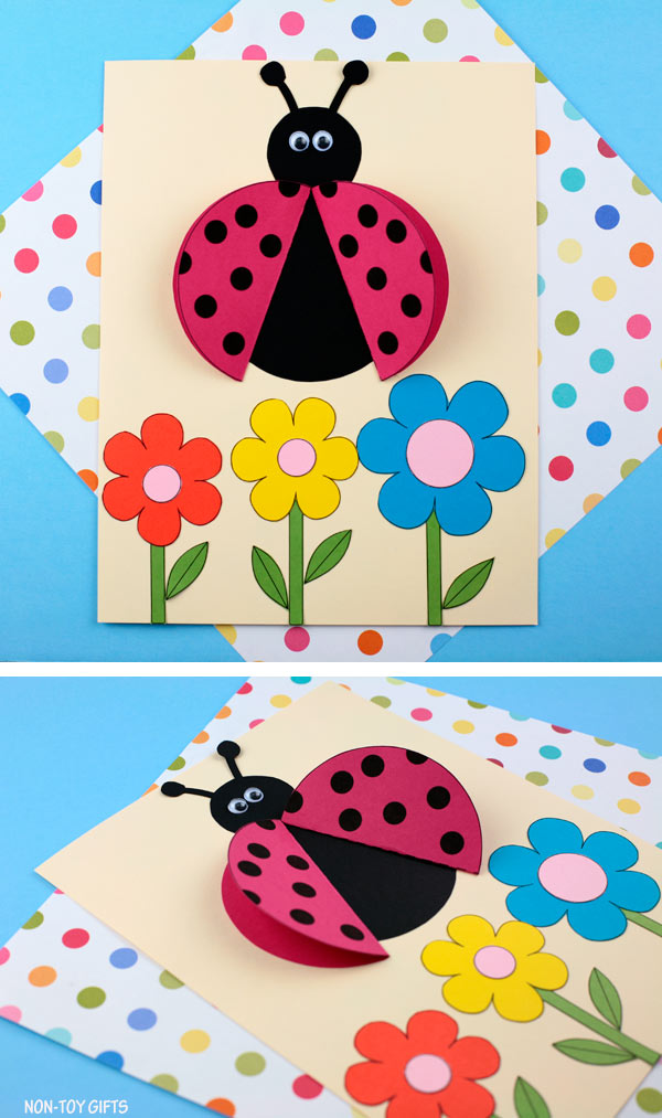 Ladybug crafts for preschoolers