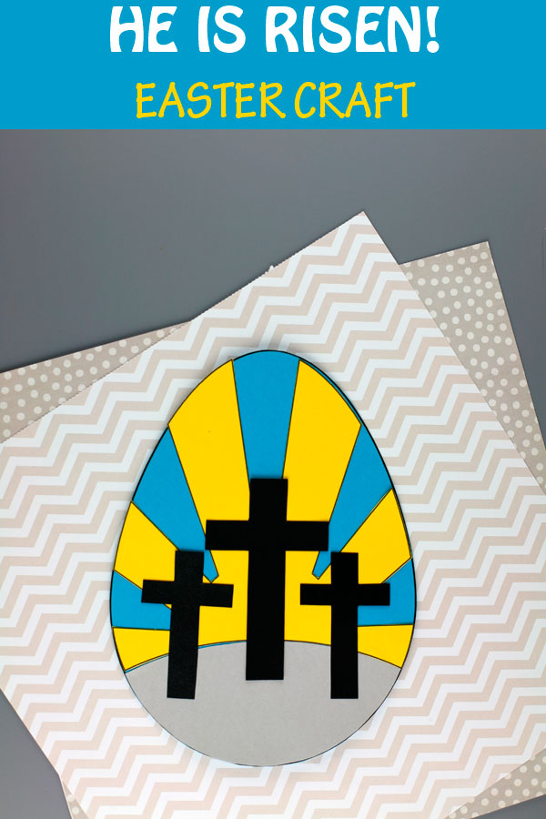 He Is Risen Easter craft