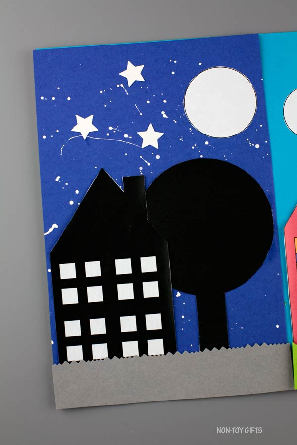 House day and night craft - night