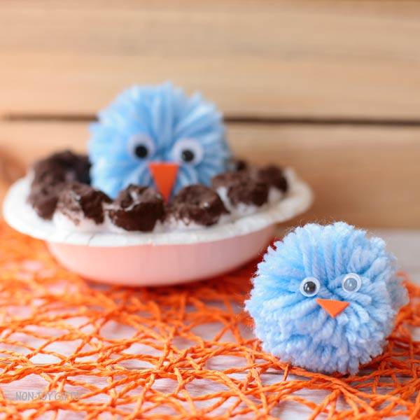 bird and nest spring craft
