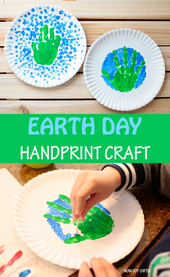 Earth Day handprint craft