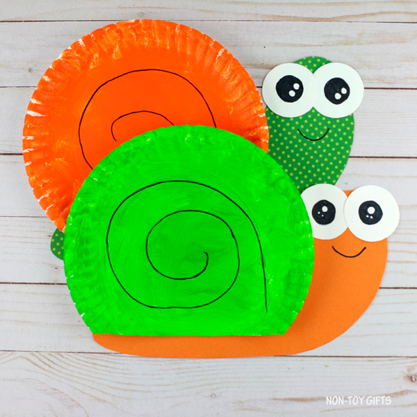 easy snail craft