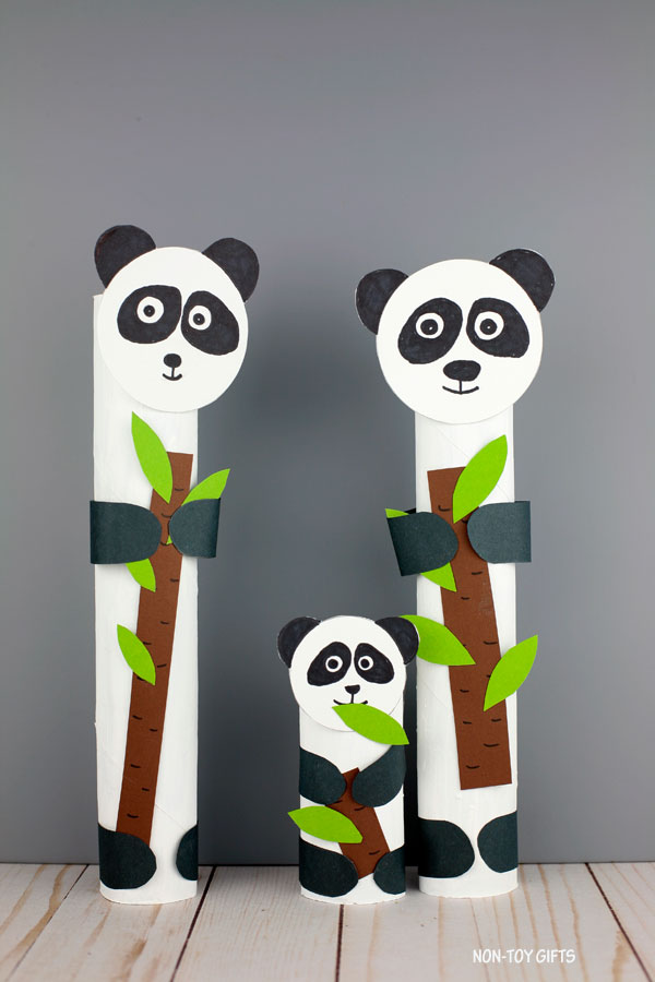 easy panda craft for kids