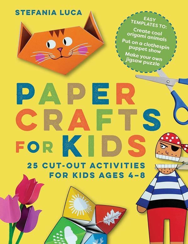 Paper Crafts Book for kids
