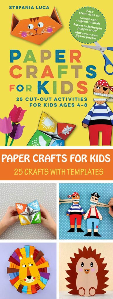 Paper Crafts for Kids - Book