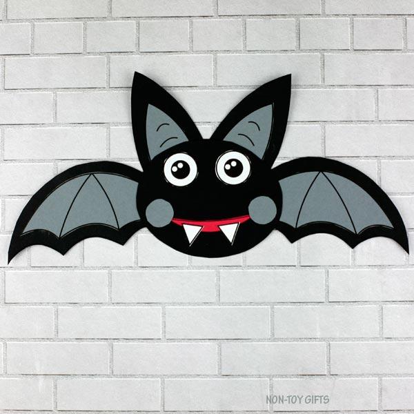 easy halloween bat craft