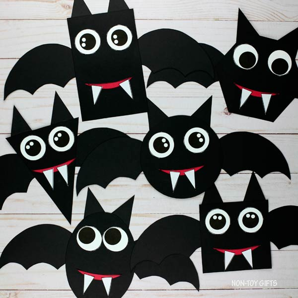 Shape bats craft