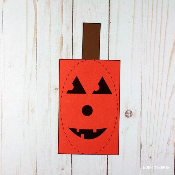 pumpkin with stem