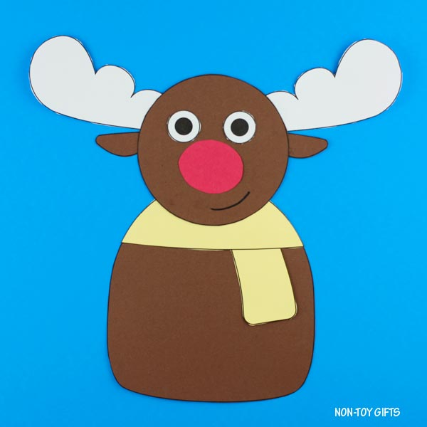 Christmas craft for kids: reindeer