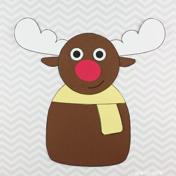 reindeer craft for preschoolers and older kids