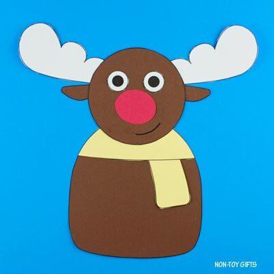 Reindeer craft for kids