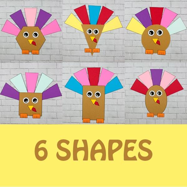 Turkey shape craft