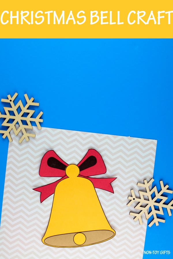 Christmas bell craft for kids