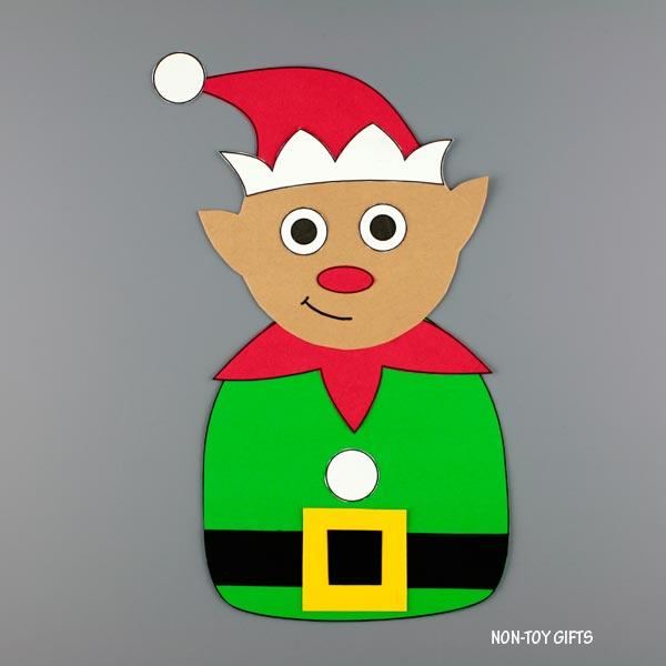 Elf craft for preschoolers