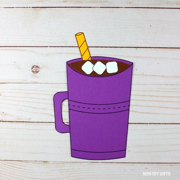 paper hot chocolate craft