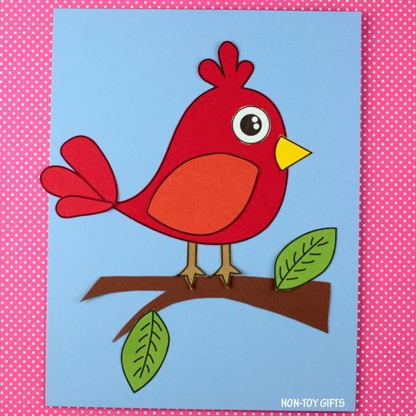 red bird craft