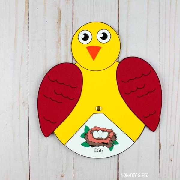 bird wheel craft