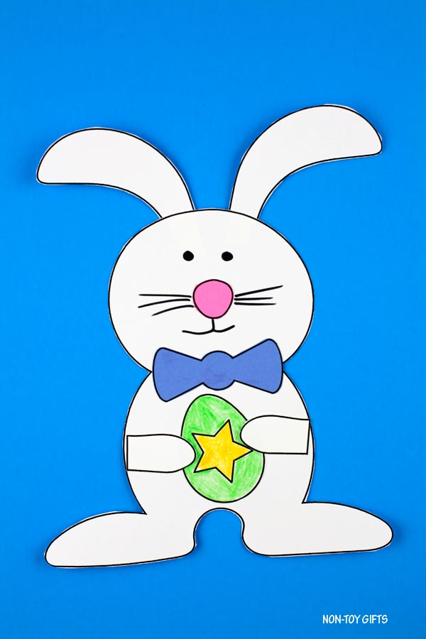 Easter egg and bunny craft