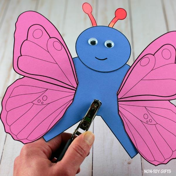 hole in butterfly
