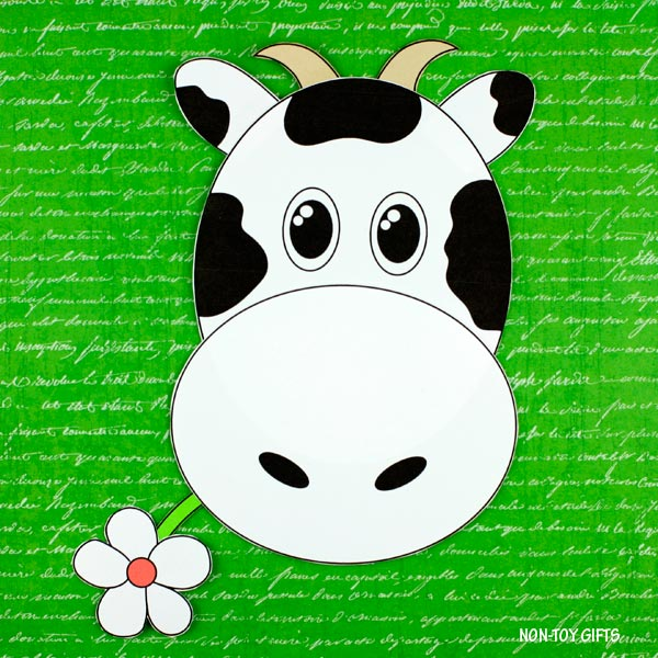 Easy cow craft for kids