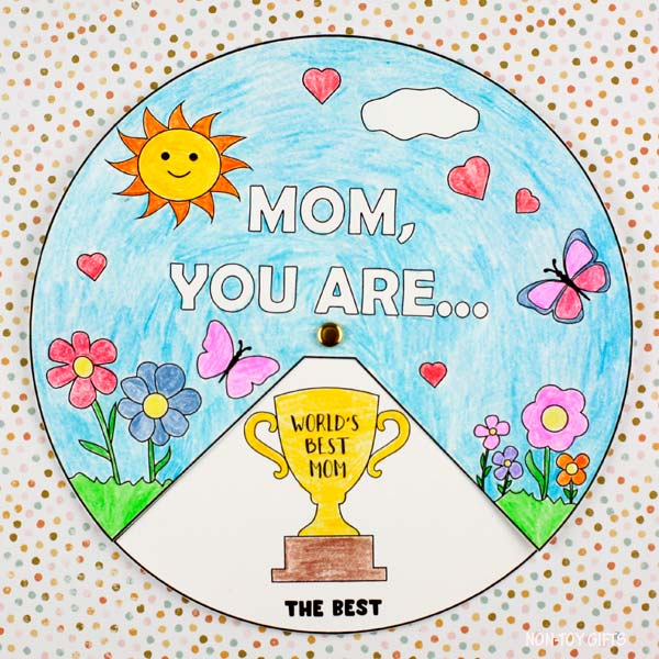 Easy Mother's Day wheel