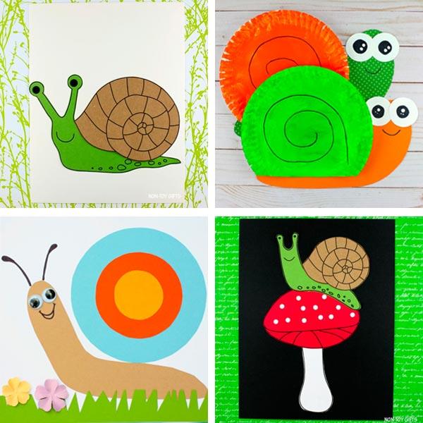 snail crafts 1