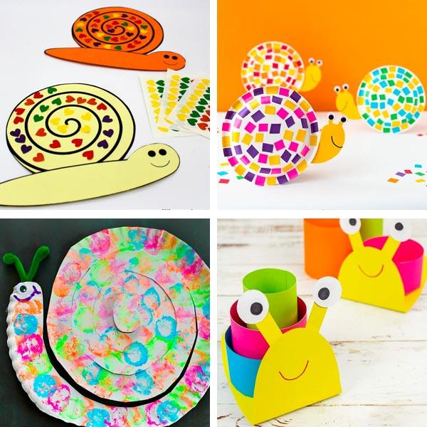 snail crafts 2