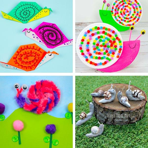 snail crafts 3