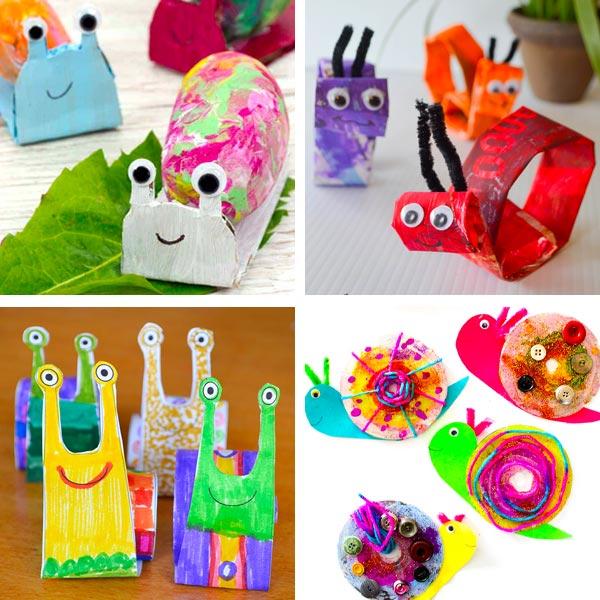 snail crafts 4