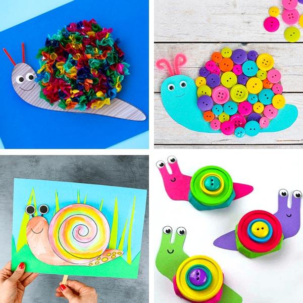snail crafts 5
