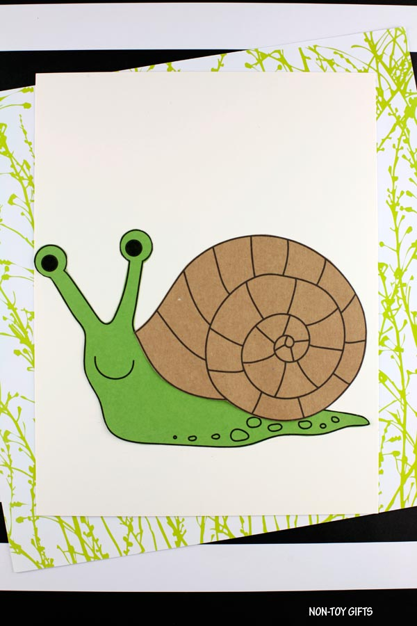paper snail craft