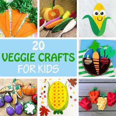 20 Veggie crafts