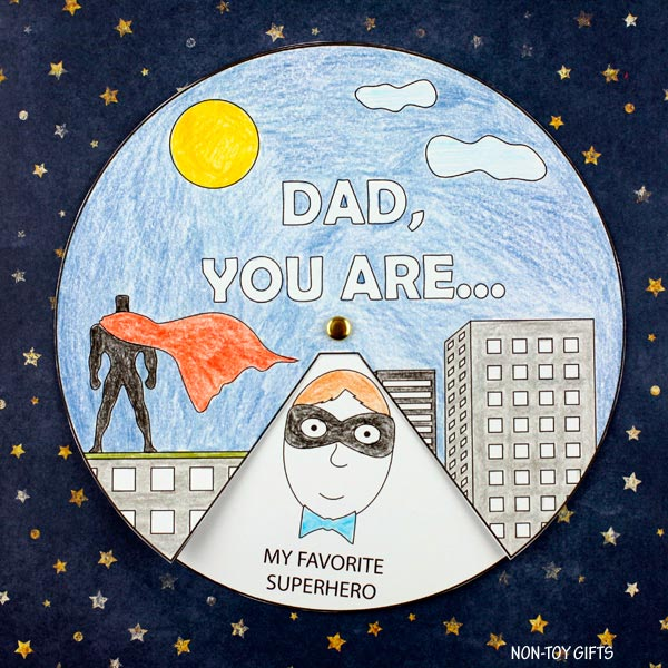Father's Day superhero craft