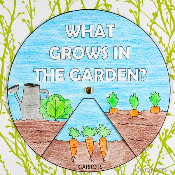 What grows in the garden craft