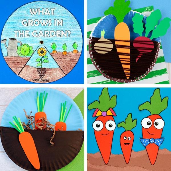 veggie crafts for kids 1