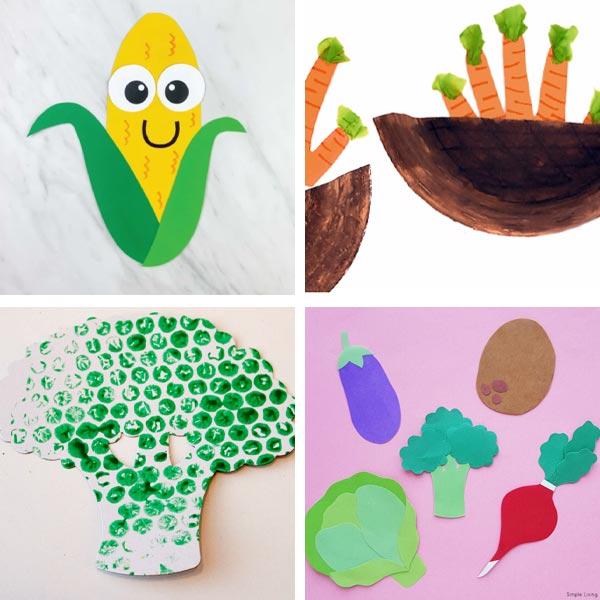 veggie crafts for kids 2