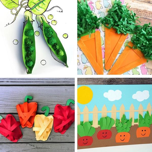 veggie crafts for kids 4