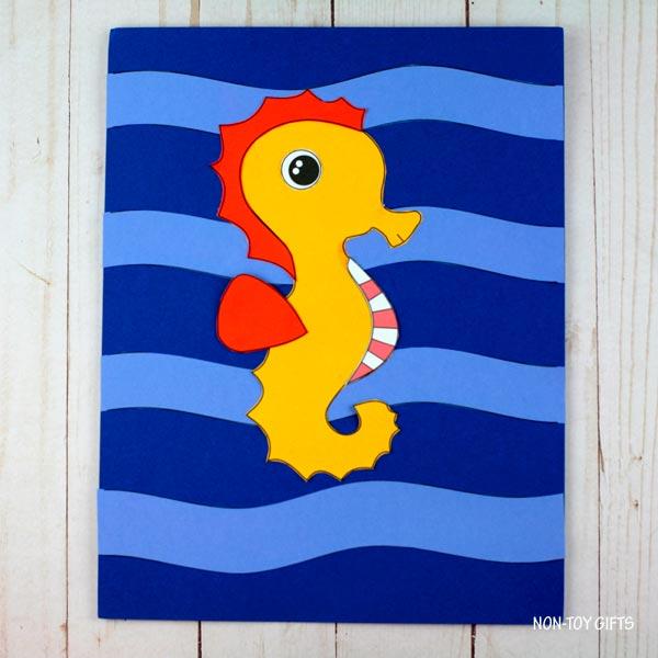 seahorse details