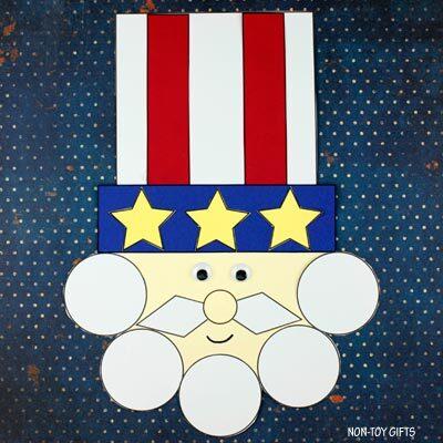 Shape Uncle Sam craft
