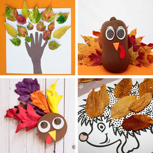 Real leaf crafts 1