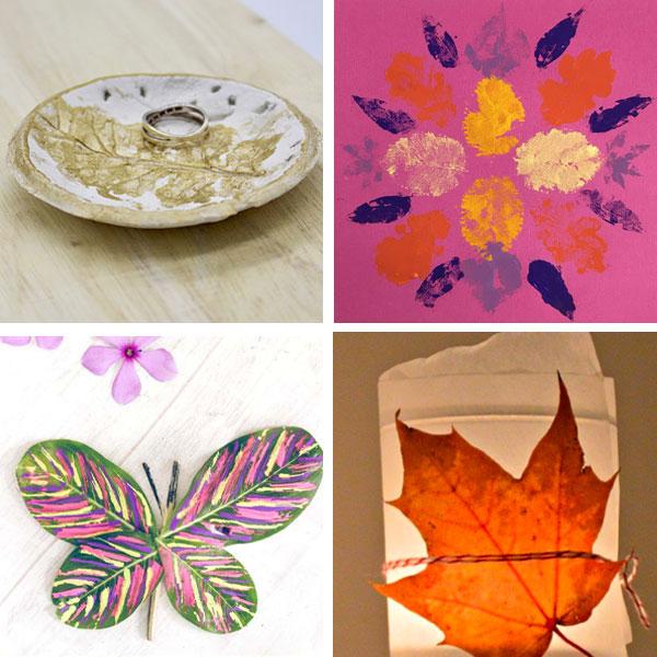 Real leaf crafts 5