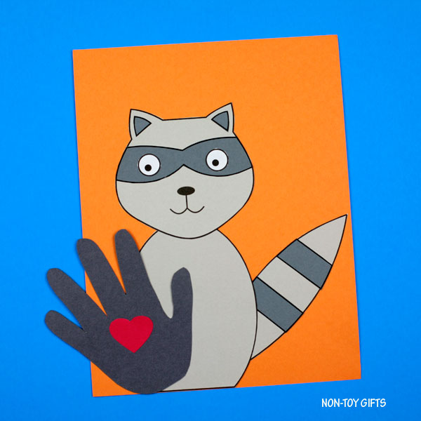 The Kissing Hand craft for back to school